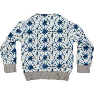organic cotton reversible kids bomber jacket, college style