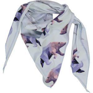 kids scarf with icebear print